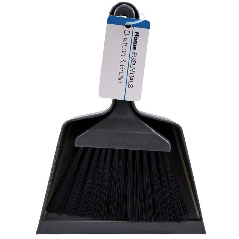 Home Essentials Dust Pan with Brush, , hi-res