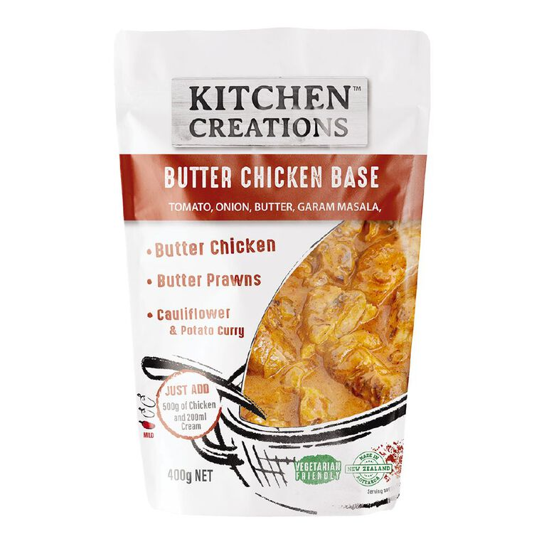 Kitchen Creations Butter Chicken Meal Base 400g, , hi-res