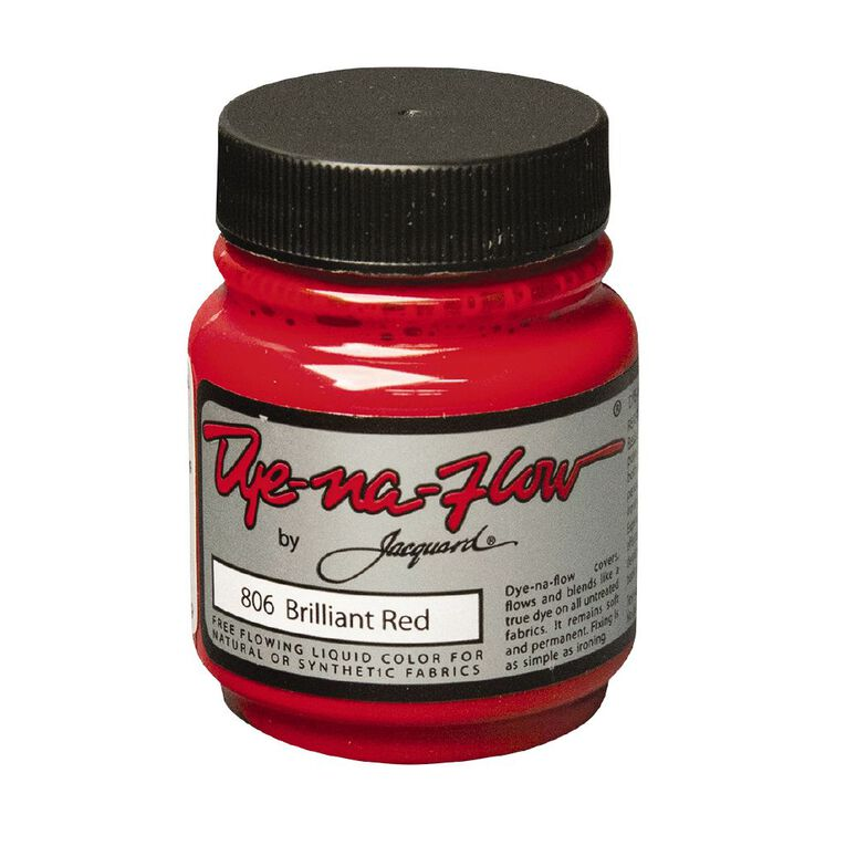 Jacquard Dye-Na-Flow 66.54ml Brilliant Red, , hi-res