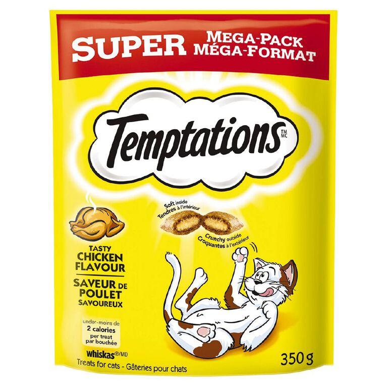 Temptations Cat Treats Tasty Chicken Super Mega Pack 350g Bag, , hi-res