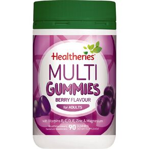 Healtheries Adult Multi Gummies Berry 90s