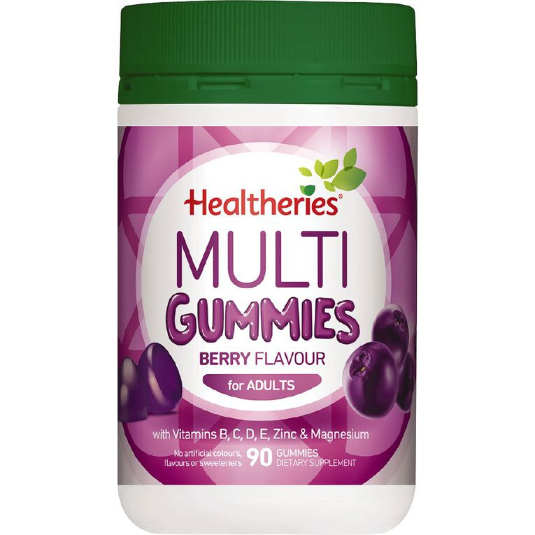 Healtheries Adult Multi Gummies Berry 90s, , hi-res