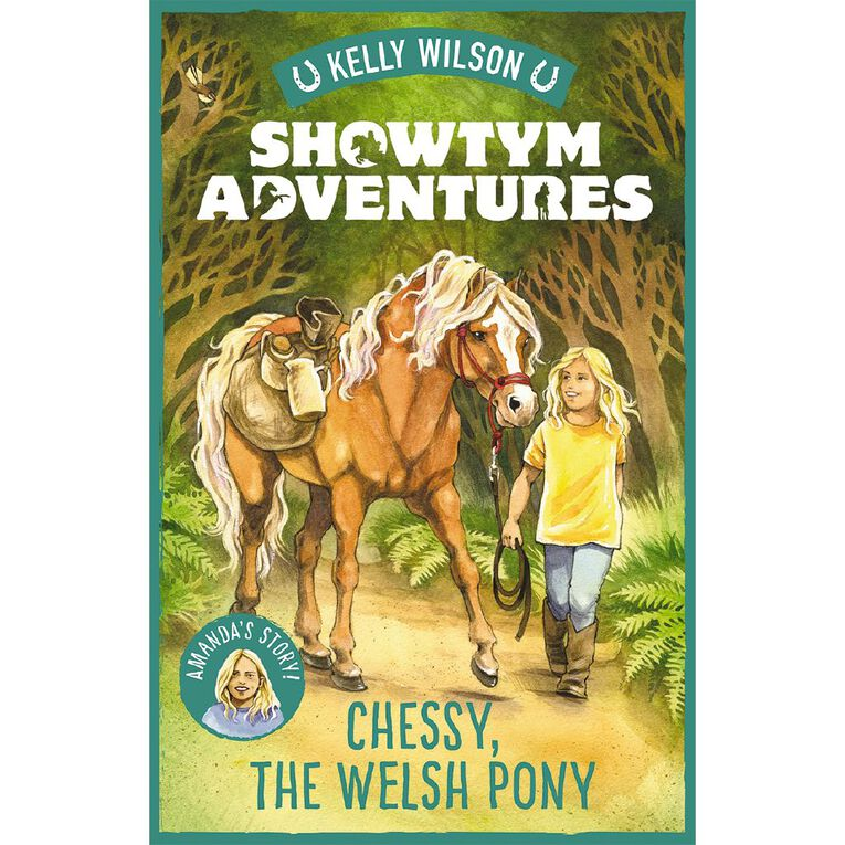 Showtym Adventures #4 Chessy the Welsh Pony by Kelly Wilson, , hi-res