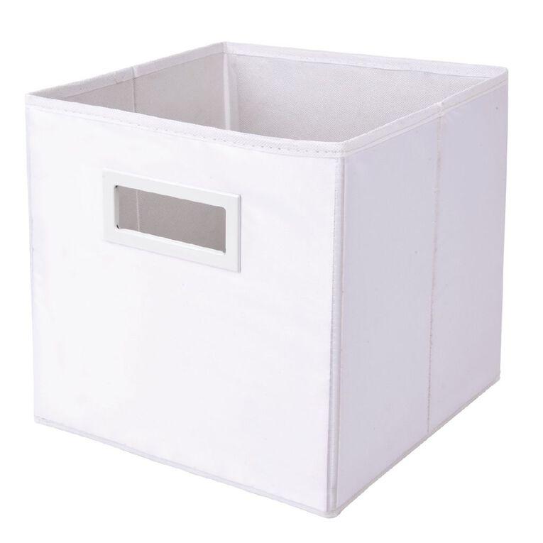 Living & Co Mason Cube Storage Insert White, , hi-res