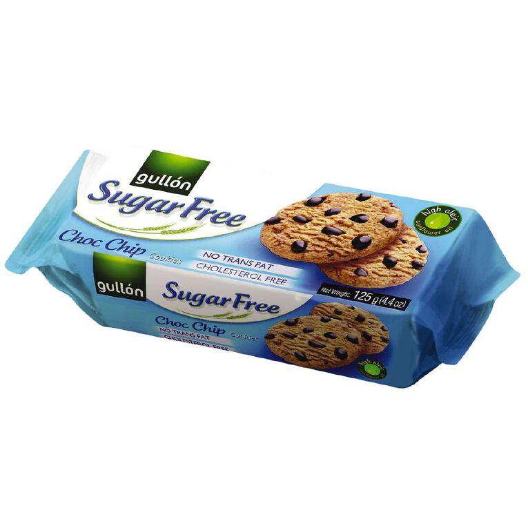 Gullon Sugar Free Chocolate Chip Biscuits 125g, , hi-res