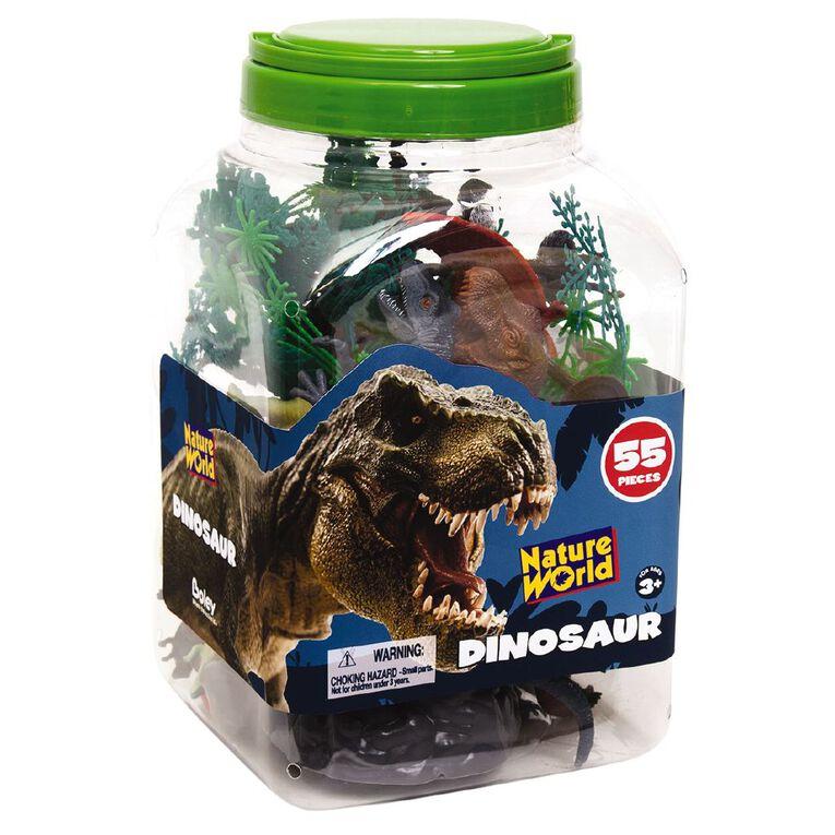 Dinosaurs & Accessories 55 Pieces, , hi-res