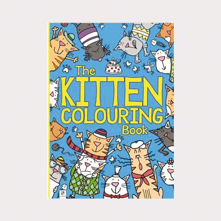 The Kitten Colouring Book by Michael O'Mara, , hi-res