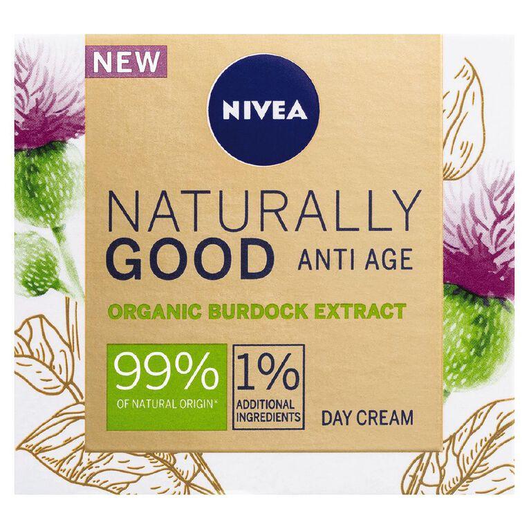 Nivea Naturally Good Anti Age Day Cream 50ml, , hi-res