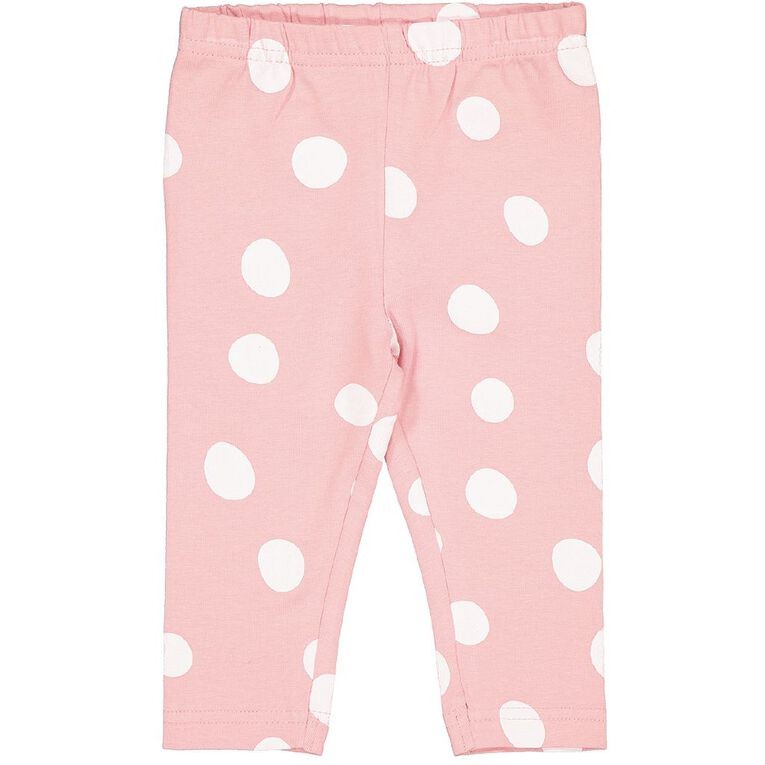 Young Original Baby All Over Print Leggings, Pink Light, hi-res image number null
