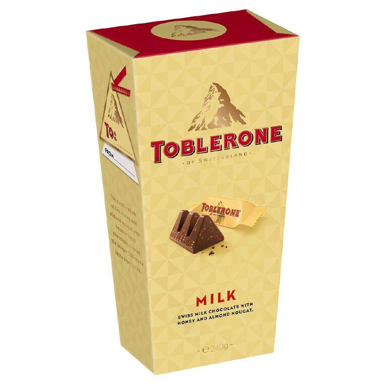 Toblerone Milk Tinies Gift Box 240g, , hi-res