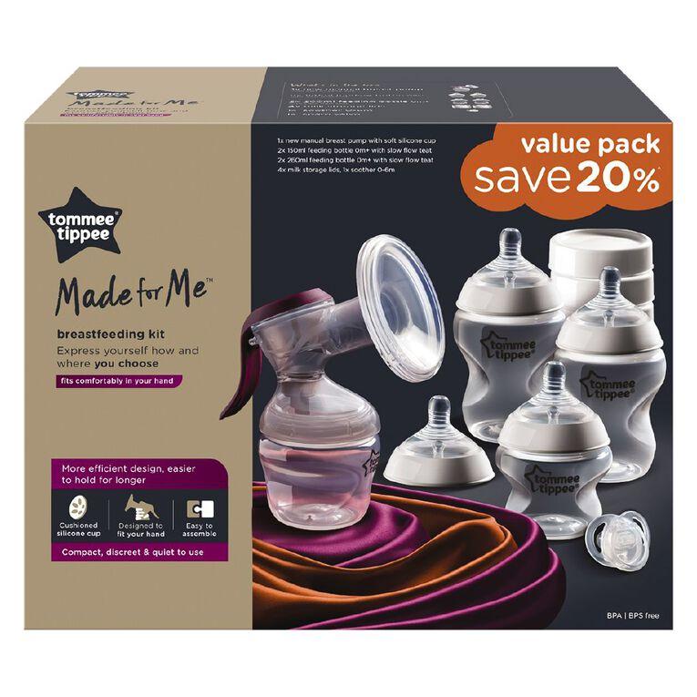 Tommee Tippee Manual Pump Breast Feeding Kit, , hi-res