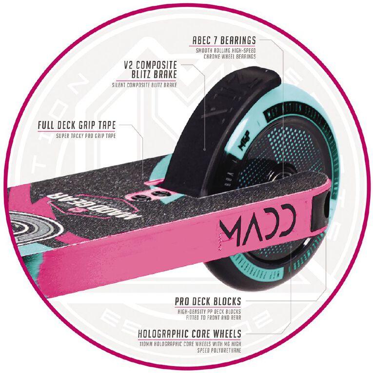MADD Kick Pro Scooter Teal /Pink, , hi-res