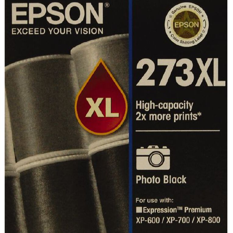 Epson Ink 273XL Photo Black, , hi-res