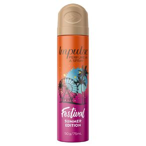 Impulse Body Spray Festival 75ml