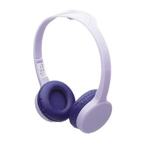 Tech.Inc Wireless Kids Headphone Volume Limited Purple