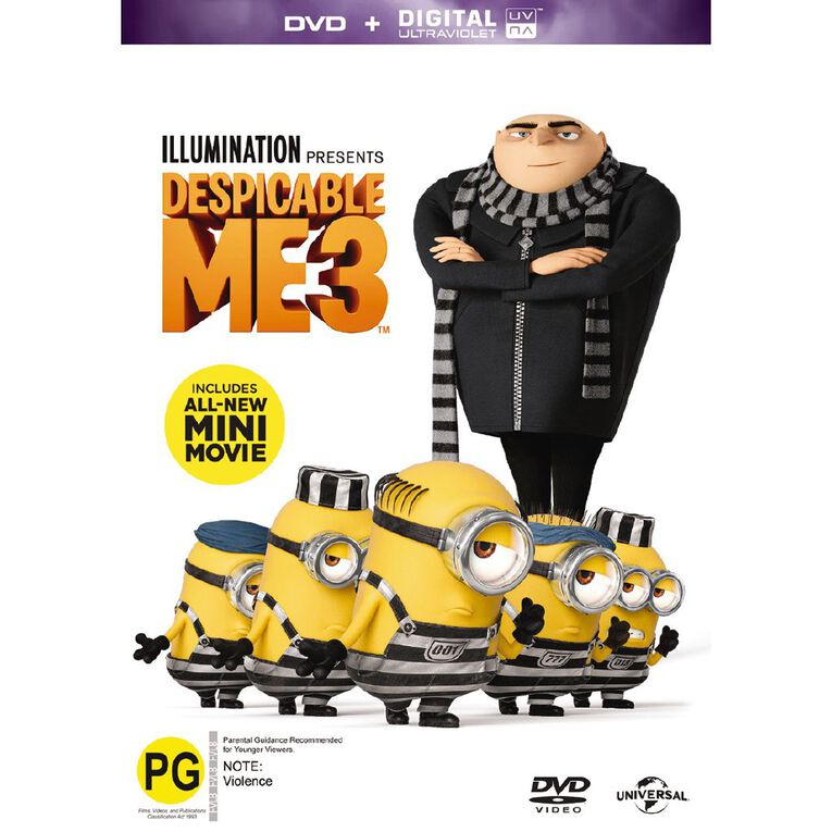 Despicable Me 3 DVD 1Disc, , hi-res