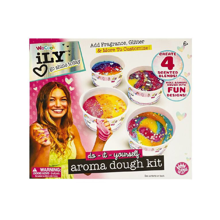 I Love You DIY Aroma Therapy Dough Kit, , hi-res