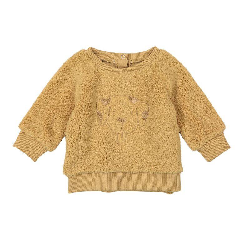 Young Original Baby Sherpa Sweatshirt, Brown Mid, hi-res