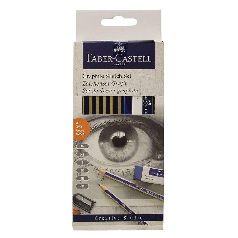 Faber-Castell Graphite Sketch Set, , hi-res