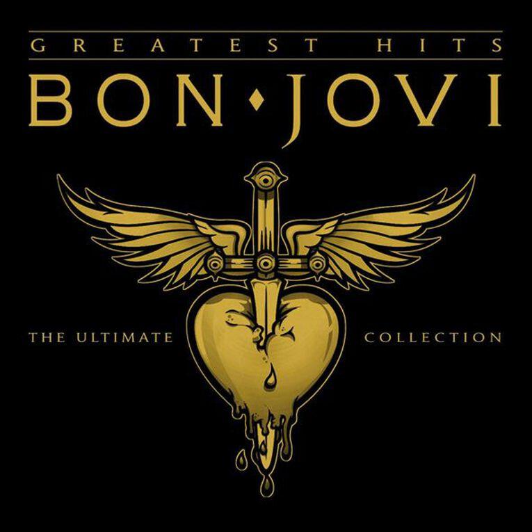 Greatest Hits CD by Bon Jovi 1Disc, , hi-res
