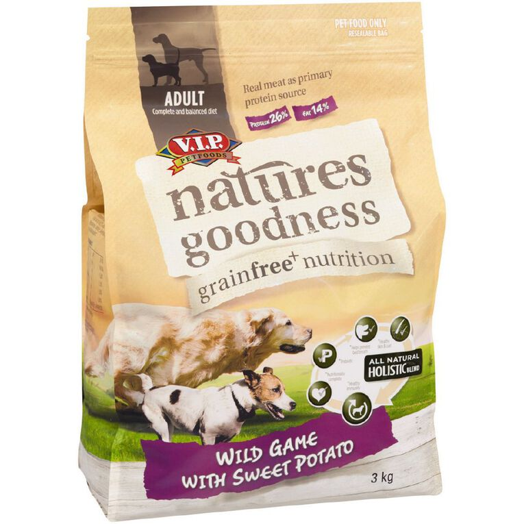 Natures Goodness Wild Game with Sweet Potato 3kg, , hi-res