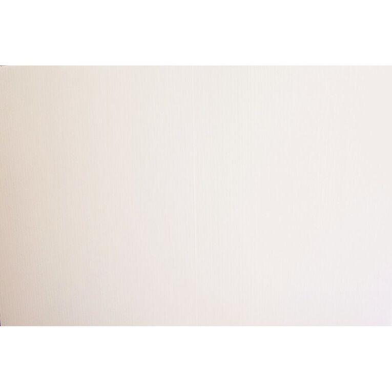 Plasti-Flute Sheet 600mm x 450mm White, , hi-res