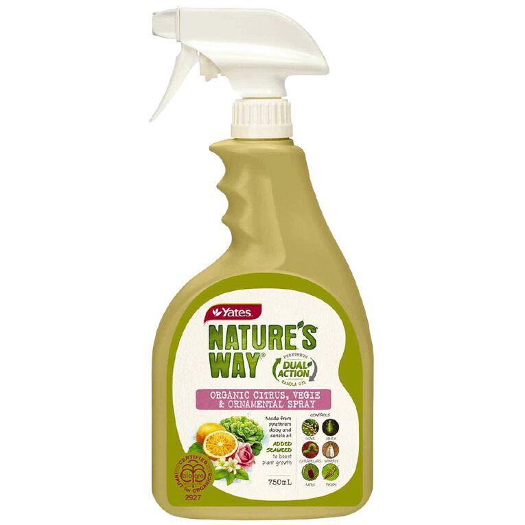 Yates Natures Way Citrus Vege & Ornamental Insect Spray RTU 750ml, , hi-res