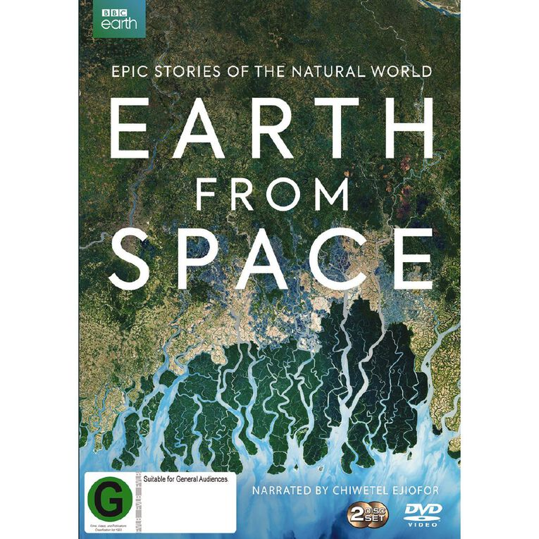 Earth From Space DVD 2Disc, , hi-res