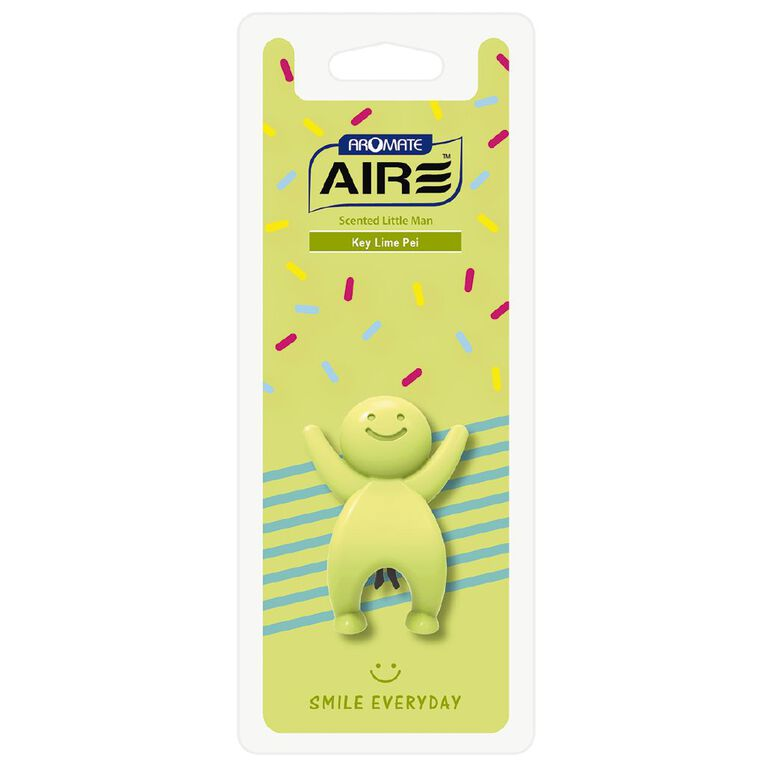 Aromate Key Lime Pie Scented Little Man Auto Air Freshener, , hi-res