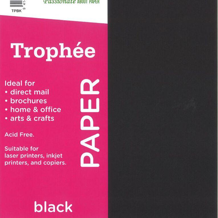 Trophee Paper 80gsm 30 Pack Black A4, , hi-res
