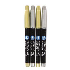 WS WS Permanent Marker Metallic 4pack