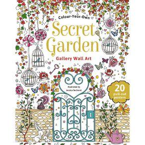 Colour Your Own: Secret Garden Wall Art