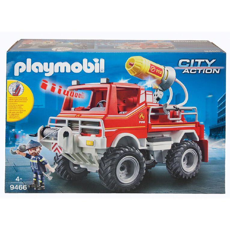 Playmobil Fire Truck, , hi-res