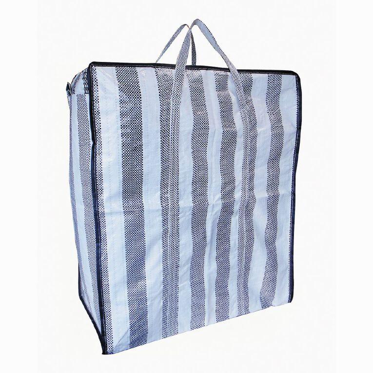 Living & Co PE Storage Bag, Black/White, hi-res