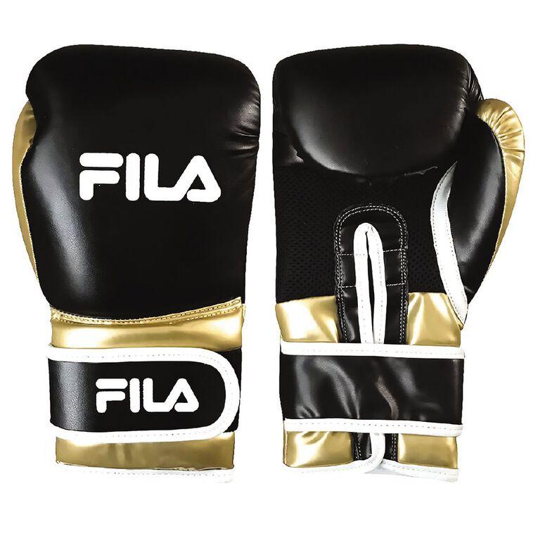 Fila Boxing Glove 12Oz PU Gold, , hi-res