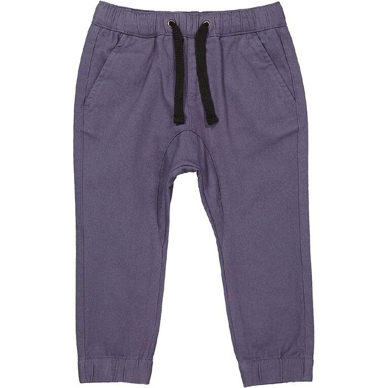 Young Original Toddler Plain Chino Pants, Blue Light, hi-res