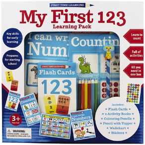 First Time Learning: Numbers Learning Pack