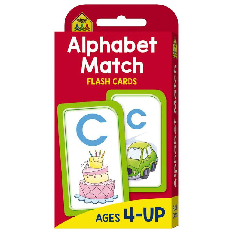 Hinkler School Zone Alphabet Match Flash Cards, , hi-res