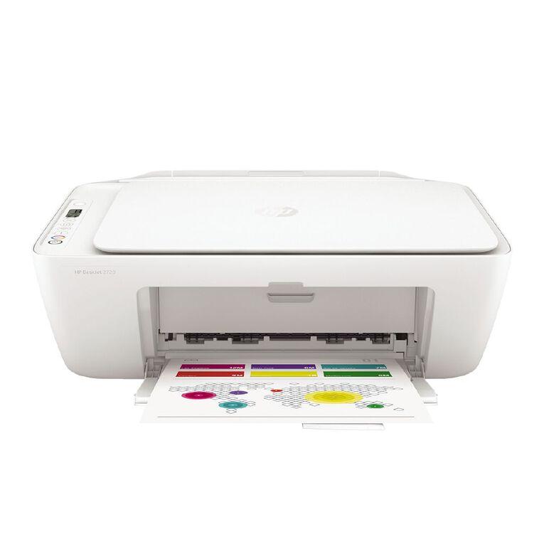 HP DeskJet 2720 All-in-One Printer White, , hi-res
