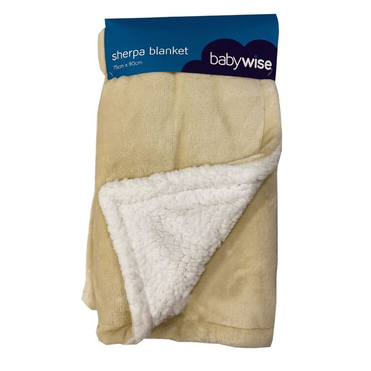 Babywise Sherpa Blanket, , hi-res
