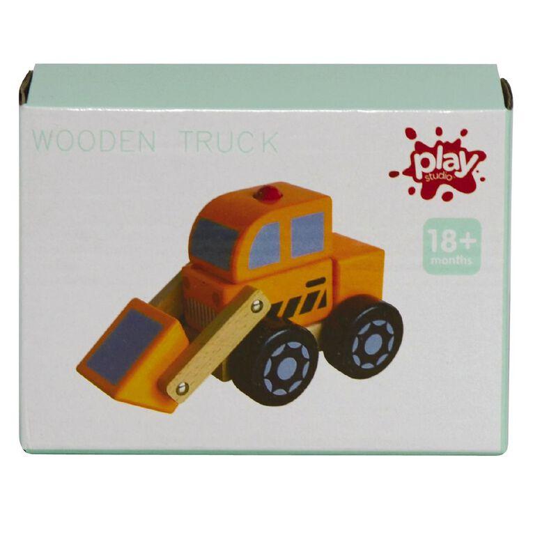 Play Studio Wooden Trucks Assorted, , hi-res