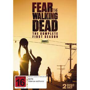Fear the Walking Dead DVD 2Disc
