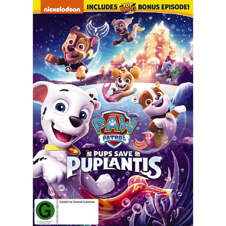 Paw Patrol Pups Saves Puplantis DVD 1Disc, , hi-res