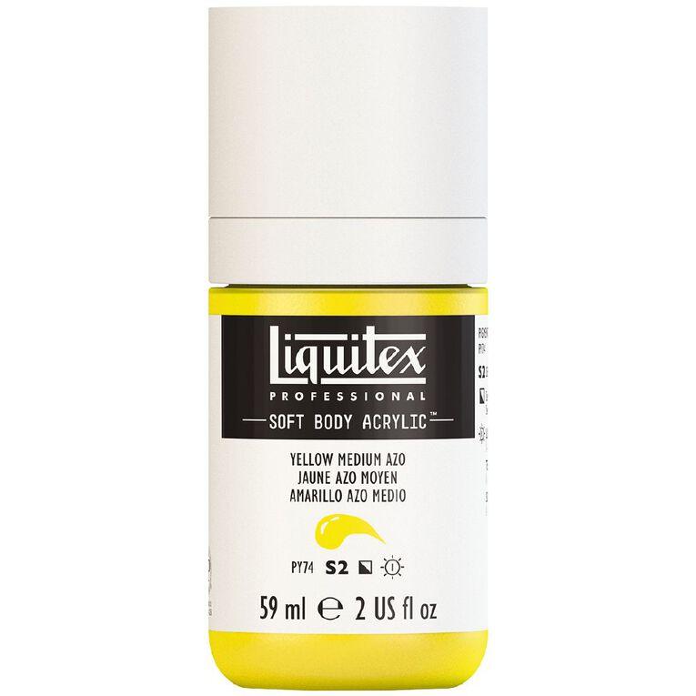 Liquitex Soft Body Acrylic 59ml Yellow Medium Azo S2, , hi-res