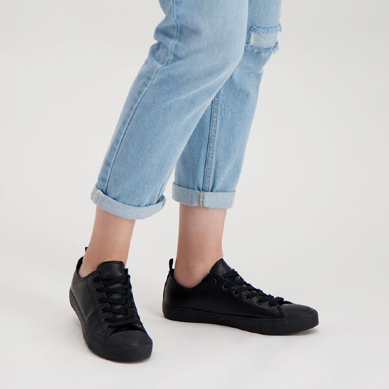 H&H Polly Lo Pu Shoes, Black, hi-res