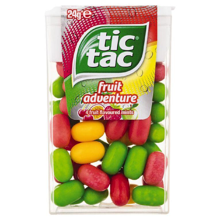 Tic Tac Fruit Adventure 24g, , hi-res