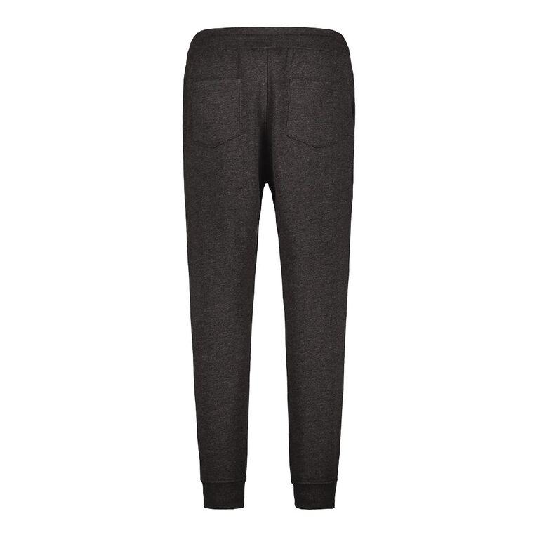H&H Men's Jogger Trackpants, Black MARLE, hi-res