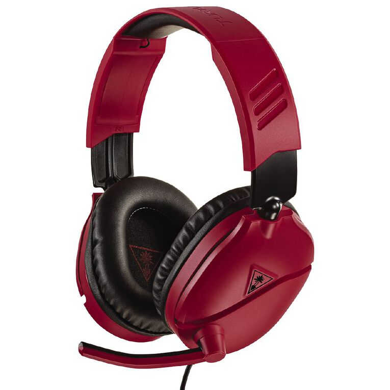 Turtle Beach Headset Recon 70 Red Red, , hi-res