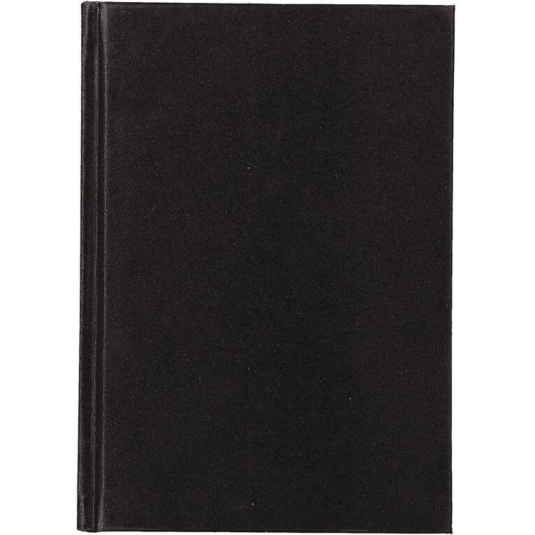 Uniti Visual Diary Hardback 110gsm 112 sheet Black A5, , hi-res