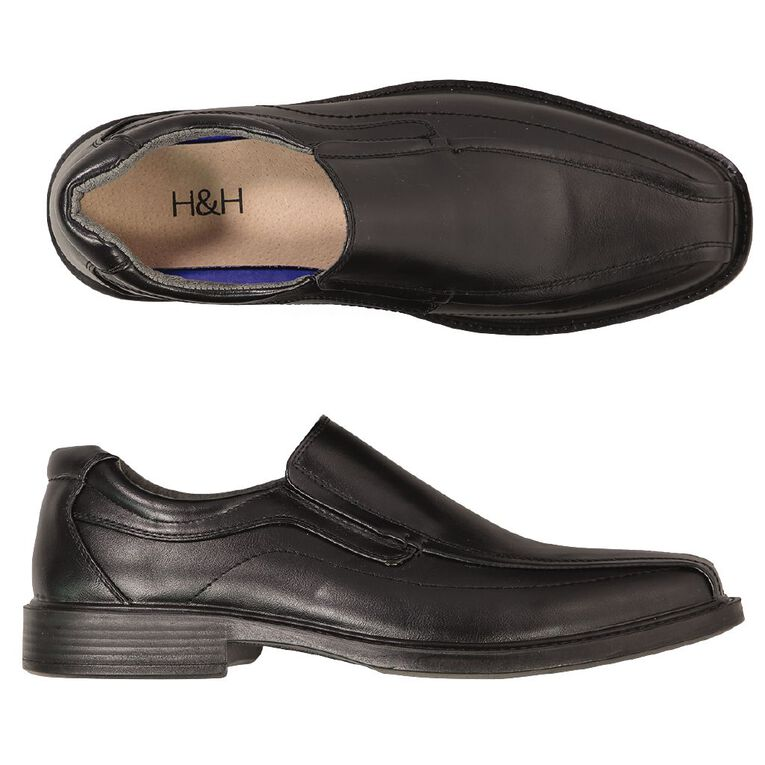 H&H Paden Dress Shoes, Black, hi-res